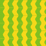 Abstract paneling pattern - waves decor - seamless background Stock Images