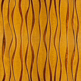 Abstract paneling pattern - waves decoration - wooden texture. Abstract decorative paneling - seamless background - waves decor - wooden texture Stock Images