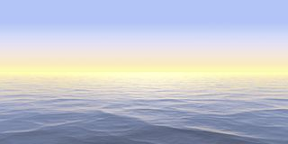Abstract Panorama Background Design Creativity of Water surface and reflections stock illustration