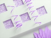 Abstract paper background. Stock Image