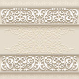 Abstract paper border decoration Stock Image