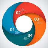 Abstract Paper Circle Shape Stock Images