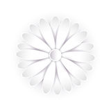 Abstract paper flower. 3d vector. Royalty Free Stock Images