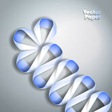 Abstract Paper Graphic Stock Photo