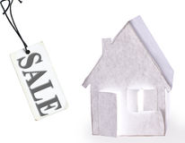 Abstract  Paper house Royalty Free Stock Photos