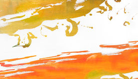 Abstract on Paper Royalty Free Stock Photography