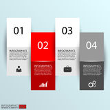 Abstract paper infographic. Vector design template . EPS10 Royalty Free Stock Image