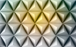 Abstract  paper poly  made from  tetrahedron background. Yellow. Abstract  paper poly  made from  tetrahedron background Royalty Free Stock Photo