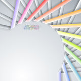 Abstract paper ribbons Stock Photo