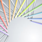 Abstract paper ribbons Stock Image