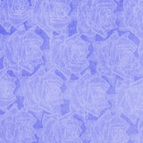 Abstract paper roses background Stock Image