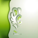 Abstract paper tree Royalty Free Stock Photography