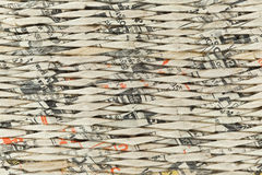 Abstract paper weave background Stock Image
