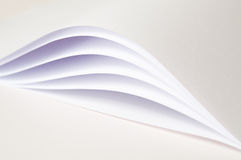 Abstract papers Stock Photography