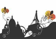 Abstract Paris Royalty Free Stock Photo