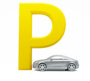 Abstract parking Royalty Free Stock Photo