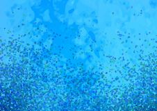 Abstract particle background Stock Image