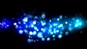 Abstract Particle Background - Loop Blue stock video footage