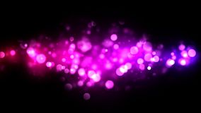 Abstract Particle Background - Loop Purple stock video