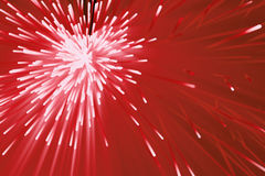 Abstract particles background. Burst lines with lights. 3d rendering Stock Images