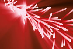 Abstract particles background. Burst lines with lights. 3d rendering Royalty Free Stock Photo