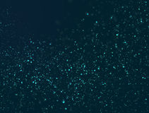 Abstract Particles Glitter Lights. Background Royalty Free Stock Photography
