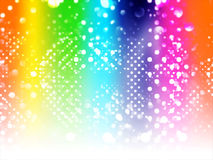 Abstract party background. With bokeh lights illustration Stock Photos