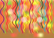Abstract party background with confetti Royalty Free Stock Photo