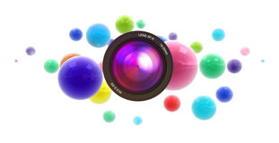 Abstract party Stock Photos