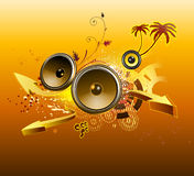 Abstract party design Royalty Free Stock Image