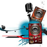 Abstract party design Stock Image