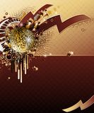 Abstract party design. Royalty Free Stock Images