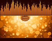 Abstract party design. Royalty Free Stock Photography