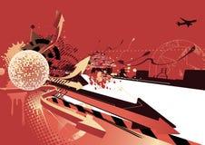 Abstract party design Stock Photos