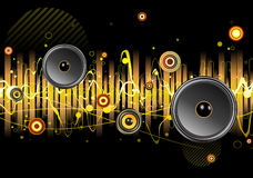 Abstract party design Royalty Free Stock Photo