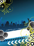 Abstract party flyer Stock Photo