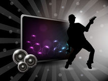 Abstract party night background Royalty Free Stock Photos