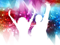 Abstract party people background Stock Photo