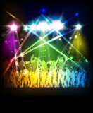 Abstract party sound background Royalty Free Stock Photography