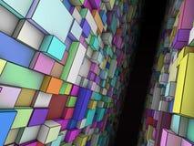 Abstract pasageway Royalty Free Stock Image