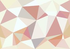 Abstract pastel color low poly bokeh wallpaper Royalty Free Stock Photography