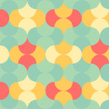Abstract pastel color tone geometric patterns background. Graphic vector illustration Stock Photos