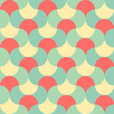 Abstract pastel color tone geometric patterns background Royalty Free Stock Photography