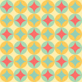 Abstract pastel color tone geometric patterns background. Graphic vector illustration Royalty Free Stock Photos