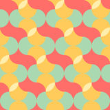 Abstract pastel color tone geometric patterns background Stock Image