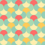 Abstract pastel color tone geometric patterns background. Graphic vector illustration Royalty Free Stock Photo
