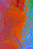 Abstract pastel colored painting Royalty Free Stock Photos