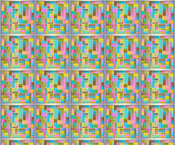 Abstract Pastel Pattern Stock Photography