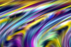 Abstract pastel purple yellow colors, shades and lines background. Lines in motion. Abstract vivid pastel soft colors, shades and colorful elegant lines in stock illustration