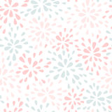 Abstract pastel seamless pattern Royalty Free Stock Photos